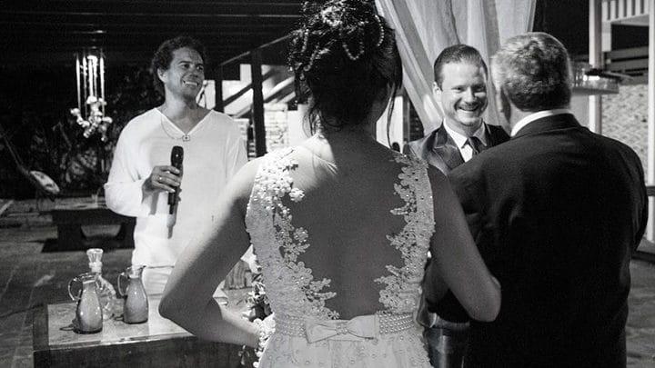 Casamento de Michelle e Angelo realizado pelo celebrante Ed Rodrigues
