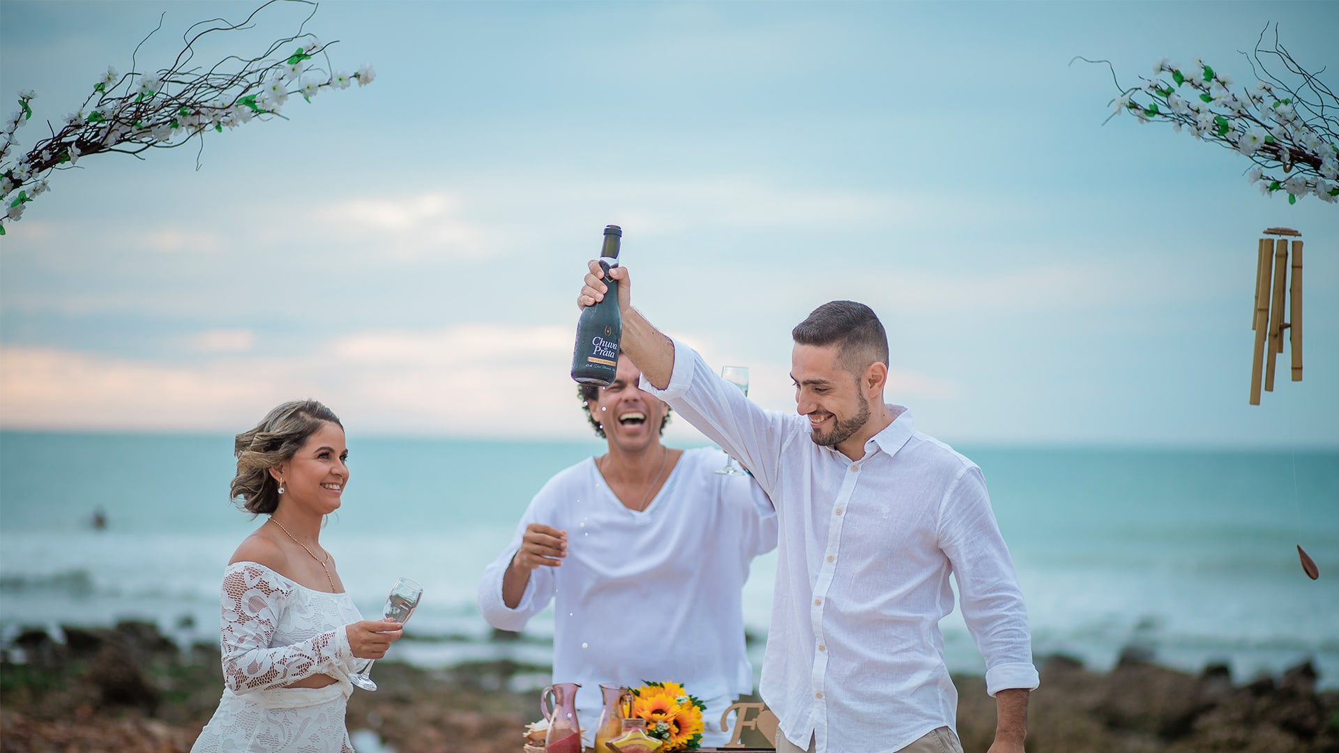 Casamento em Jericoacoara de Fátima e Sérgio