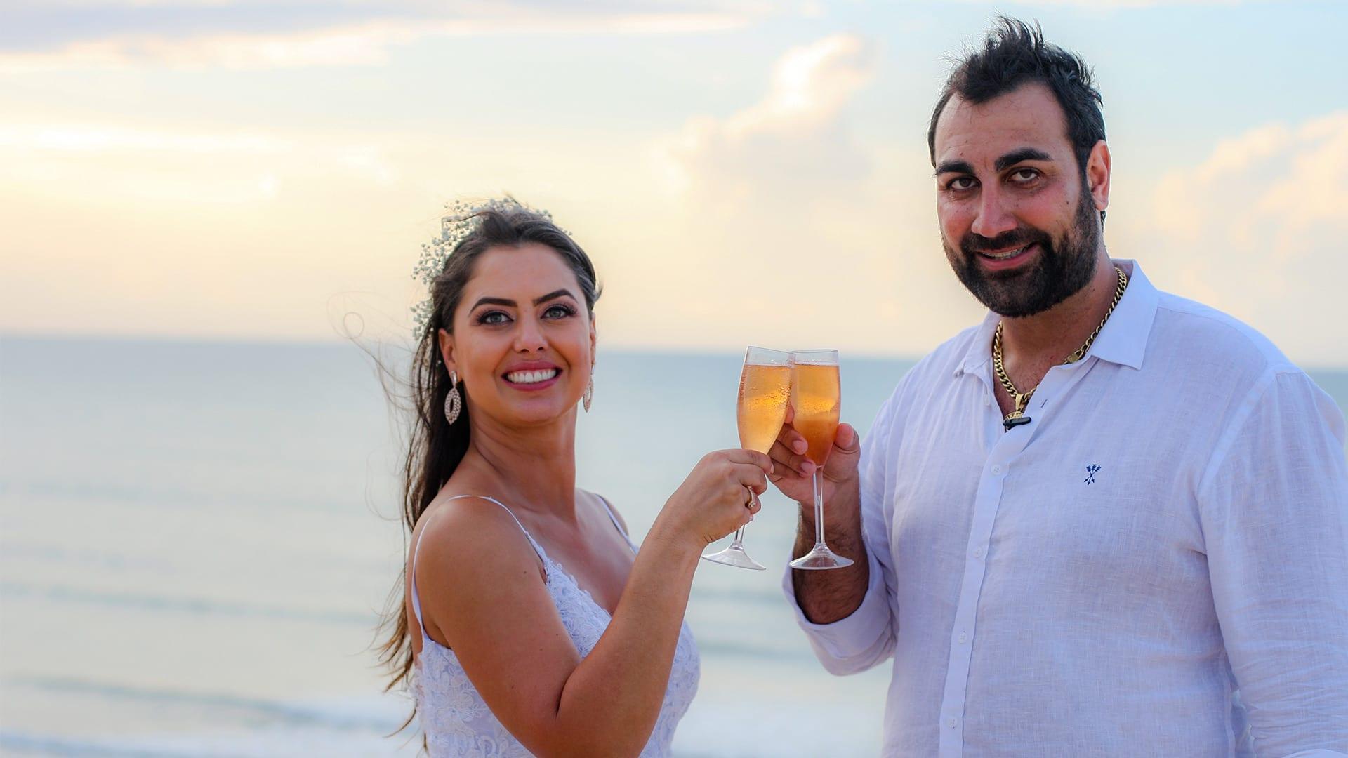 Depoimentos de noivas e noivos do celebrante Ed Rodrigues
