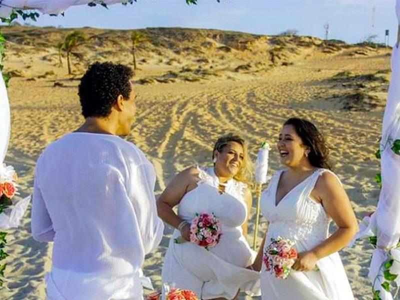 Casamento homoafetivo em Jericoacoara